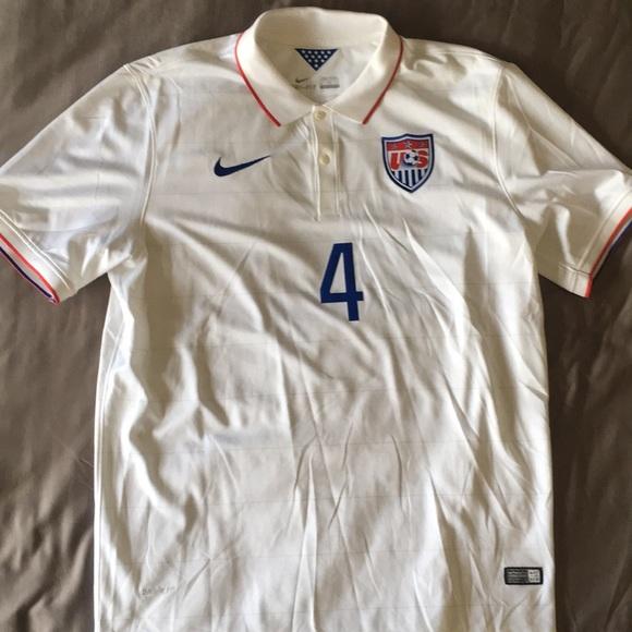Nike USA Men s Soccer Team 2014 home Jersey 4f86d320e